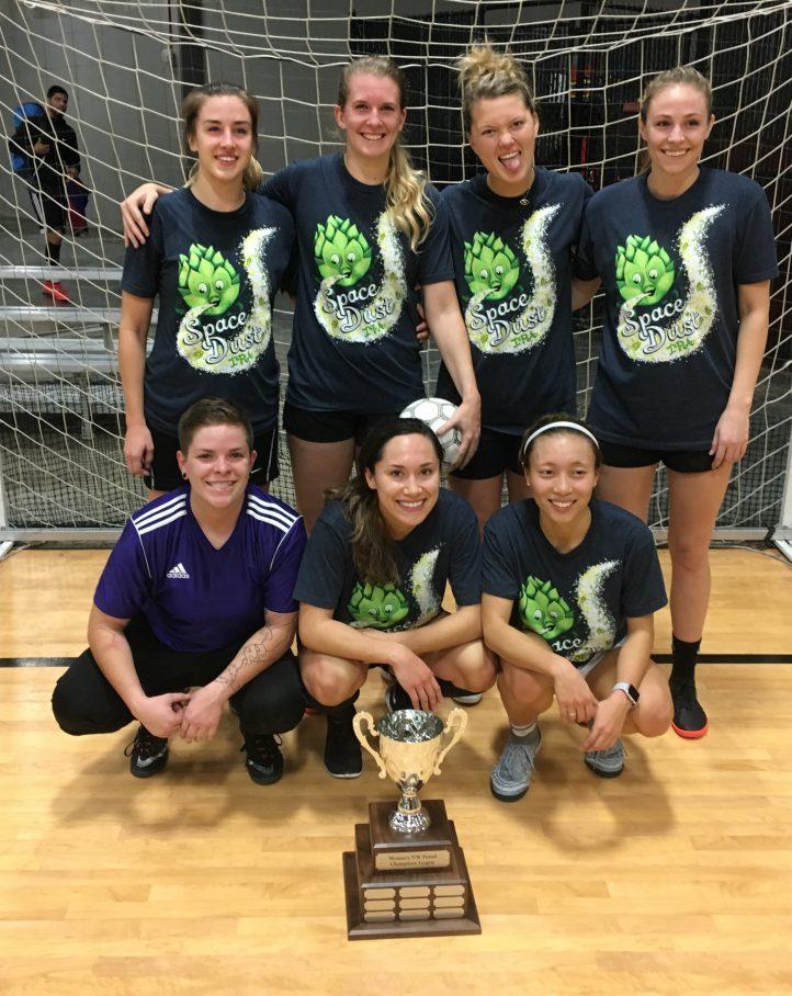 tournament champion trophy soccer futsal womens league