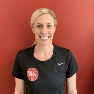 Hillary White Futsal Coach