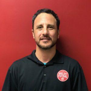 Jose Deza Futsal Coach