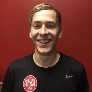 Jacob Thoreson Futsal Coach