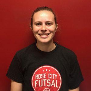 Liz Stoppelmann Futsal Coach