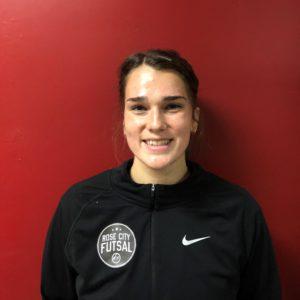 Madison Topaum Futsal Coach