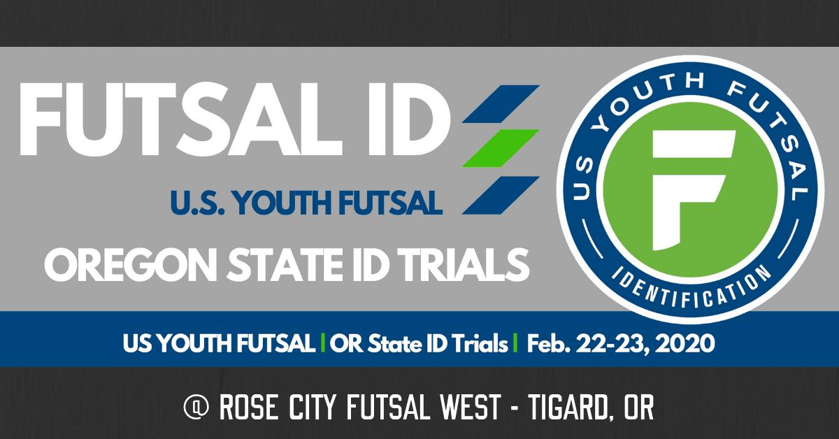 US Youth Futsal Oregon State ID Trials