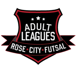 adult futsal league logo